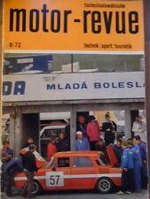 Tschechoslowakische MOTOR REVUE 9 - 1972 * Jawa-Treffen Gottwaldov Geländesport