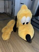 Disney Store Pluto Dog Soft Toy Teddy Childrens Kids Large Big 23""