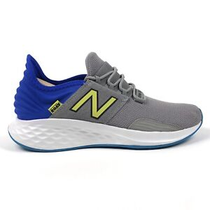 New Balance Fresh Foam Roav Mens 11 D Medium Gray Running Shoes Sneakers MROAVLR
