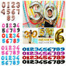 "Giant 40"" Foil Number Self Inflating Balloons Birthday parties wedding ballons"