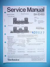 Service Manual-Anleitung für Technics SH-EH50 ,ORIGINAL