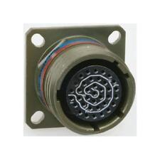 1 x Amphenol 3 Way Wall Mount MIL Spec Circular Connector Receptacle, Pin