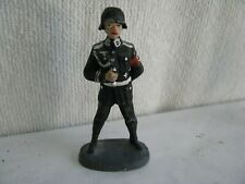 toy soldier-  German SS- Lineol or Lineol type