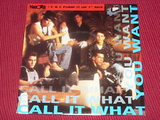 """New Kids on the Block: Call it what you want    UK    Near Mint   7"""""""