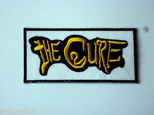 The Cure Sew or Iron On Patch