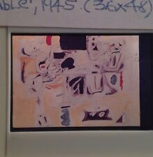 """Arshile Gorky """"Landscape Table 1945"""" 35mm Slide Armenian Abstract Expressionism"""