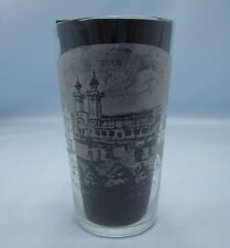 WOLVERHAMPTON ARTS & INDUSTRIAL EXHIBITION 1902 ANTIQUE SOUVENIR GLASS A.LEATH