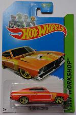2014 Hot Wheels HW WORKSHOP '73 Ford Falcon XB Col. #238 (Orange Version)