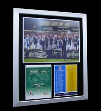 BLACKBURN ROVERS 2002 CUP FINAL LIMITED Numbered FRAMED+EXPRESS GLOBAL SHIPPING