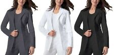 Dickies Lab Coat Scrubs Gen Flex 82408 Youtility Stretchy Spand All Colors,Sizes