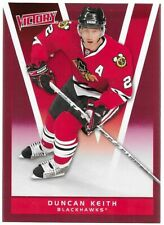 DUNCAN KEITH 2010-11 & 2011-12 Upper Deck Victory Red 2 Cards Chicago Blackhawks