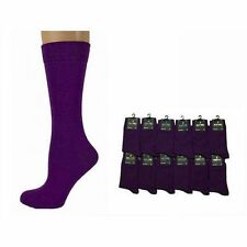 MENS PURPLE ANKLE SOCKS - SIZE: UK 6-11 NEW