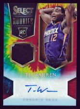 2015 Select T.J. Warren Auto RC/25 Tie Dye Prizms Rookie Jersey Autograph Suns