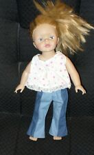 "19""  BLUE EYED, HONEY BLOND  GIRL DOLL, SLEEP EYES - MADAME ALEXANDER 2007"