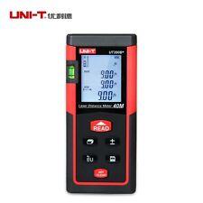 UNI-T UT390B+ Digital Laser Distance Meter Range Finder/Diastimeter 40m Tester