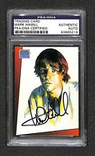 "Mark Hamill ""Luke Skywalker"" Topps Star Wars signed autographed Card Psa/Dna"