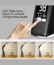 WILIT U2 5w Edle und moderne LED Schreibtischlampe In Lederoptik mit