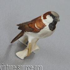 alte Goebel Porzellan Figur Gartenrotschwanz Redstart 9 cm 80er Jahre W. Germany