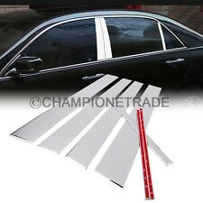 US 6Pcs Chrome Stainless Steel Pillar Post Trim For 2003-2007 Honda Accord CT