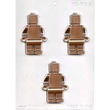 Round Bot / Robot Bot or Lego Man Chocolate Mould or Soap Mould