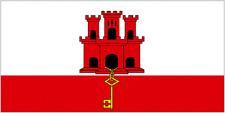 gibraltar 5x3 house flag gib the rock the Rock of Gibraltar