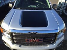 GMC CANYON 2016 Front Hood Decal Inlay BLACKOUT Graphic Matte Black Vinyl