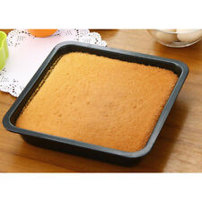 Nonstick Square Bakeware Kitchen Baking Toast Pan Durable Steel 8inch Black