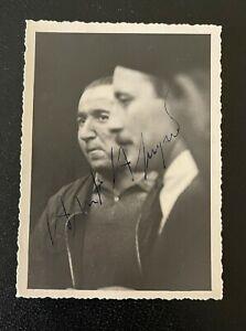 Authentic Autographed Alberto Ascari Photograph