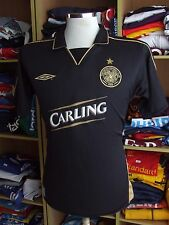 Trikot Celtic Glasgow FC 2003/04 (S Auswärts Umbro ST Pauli Schwarz Shirt Jersey