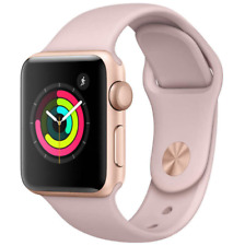 Apple Watch Series 3 42MM GPS Gold with Pink Sand Sport Band MQL22LL/A Brand New