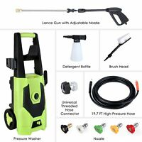 3000PSI 1.8GPM Electric Pressure Washer High Powerful Water Cleaner Machine US