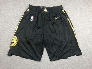 NBA New Raptors Black City Edition Pants New Fabric S-XXL