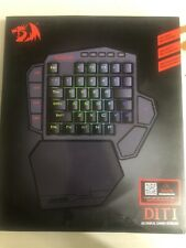 Redragon K585 DITI One-Handed RGB Mechanical Gaming Keyboard Blue Switches