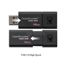 Kingston 16GB USB 3.0 Flash Drive U Disk External Storage Memory Stick for PC