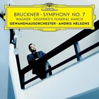 Bruckner:Symphony No. 7/Wagner: Siegfried's Funeral March-Andris Nelson CD NEW!