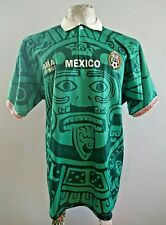 Mexico Aba Sport Home 1998 France World Cup Jersey Shirt Maglia Trikot