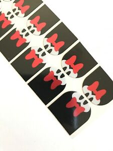 Jamberry Half Sheet - Disney - M is for Minnie - Minnie Mouse