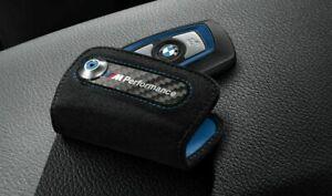 BMW M Performance Lettering Logo Key Holder Case (RRP £40) 82292355518