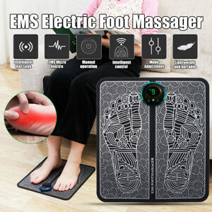 EMS Electric Foot Stimulator Massager, Improves Circulation, Relax Stiffness W