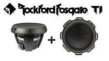 "TWO Rockford Fosgate T1D4-12 12"" 1600W Subwoofer"