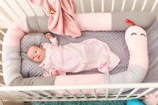 Baby Bettrock Bettrüsche Matratzenrüsche Bettvolant Schlange 290cm x 15cm