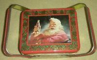 Sundblom Santa Claus Coca Cola Metal Tin Christmas