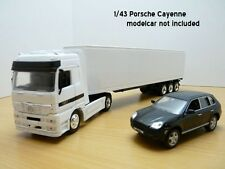 Mercedes-benz Actros 1857 W/ 40' Container 1 43 Model 15113 ray