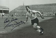 Terry Dyson Mano Firmado Tottenham Hotspur Fotografía 12x8.