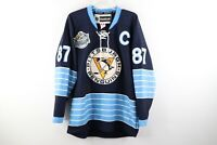 Reebok CCM Mens 50 Pittsburgh Penguins Sidney Crosby 2011 Winter Classic Jersey