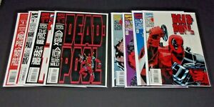 Dead-pool The Circle Chase #1-4 & All New X-men Limted Series #1-4 (8) issue Lot