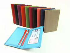 Leather Bifold Purses & Wallets for Women with Photo Holder