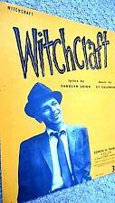 FRANK SINATRA: WITCHCRAFT (SHEET MUSIC)