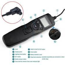 Intervalómetro temporizador control remoto para Canon 7D 6D 5D 50D 40D 30D 5D Mark II
