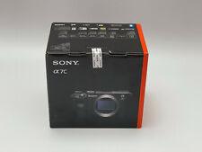 Sony Alpha a7C 24,2MP Spiegellose Systemkamera - Silber (Nur Gehäuse) NEU OVP